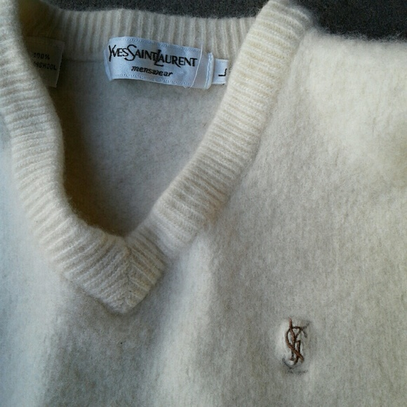 9f9703a8c Yves Saint Laurent Shirts & Tops | Ysl Sweater Kids Lrg | Poshmark